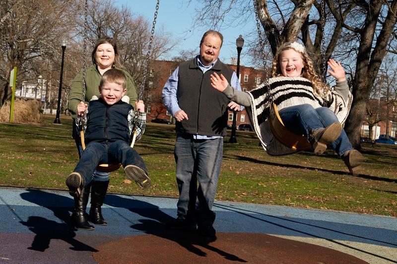 Family Editorial Portrait