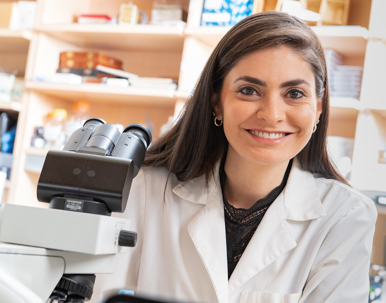 Medical School Researcher Portrait