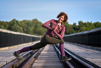 Editorial Yoga Portrait of Shan non Sabol Personal Branding