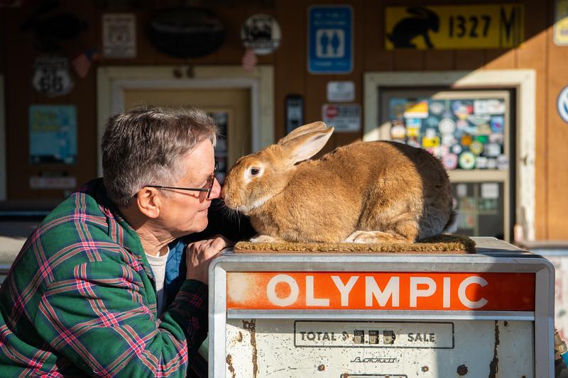 Rich Henry owner of Henrys Rabbit Ranch