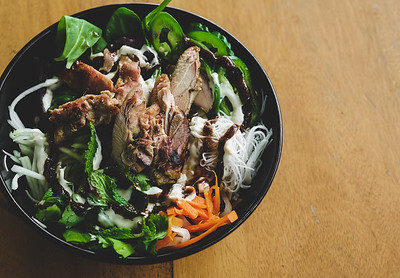 Lemongrass Grilled Chicken Bowl from Les Banh Amis