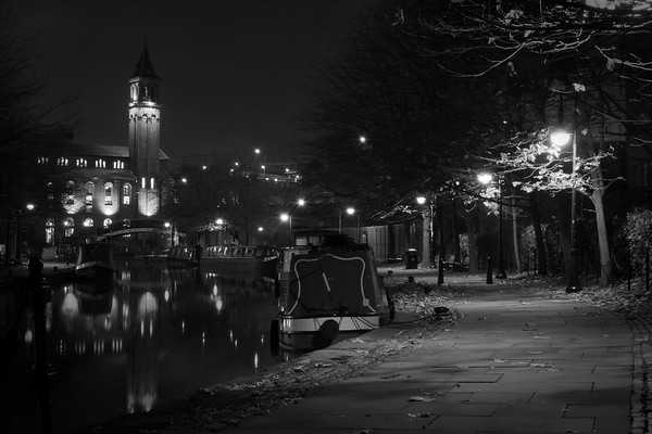 Bridgewater Canal and The Chapel, Deansgate, Manchester