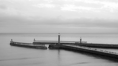 Whitby Harbour Walls