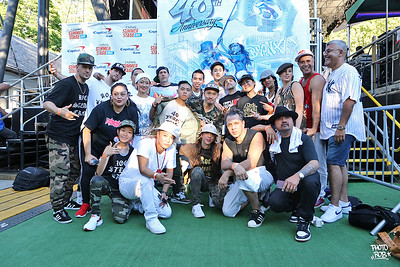 Rock Steady Crew 40th Anniversary 7/30/2017