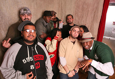 High Water Music: Shakespeare, Nola Darling, Che Grand, Spec Boogie, Sucio Smash, 2 Hungry Bros