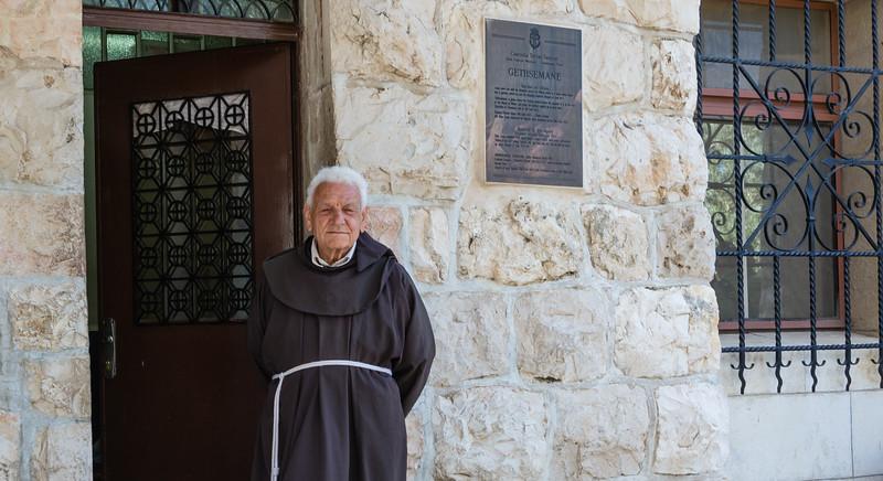 Gethsemane Monk