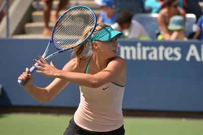 MARIA  SHARAPOVA   /    US  OPEN  TENNIS  TOURNAMENT  2015    -    US  Tennis  Center,  Flushing  Meadows  NY