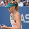 MARIA  SHARAPOVA   /    US  OPEN  TENNIS  TOURNAMENT  2015    -    US  Tennis  Center,  Flushing  Meadows  NY