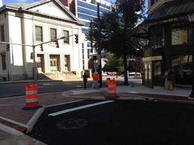 6th Street Pedestrian Streetscape