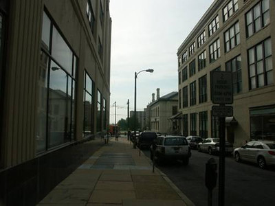6th Street Pedestrian Streetscape