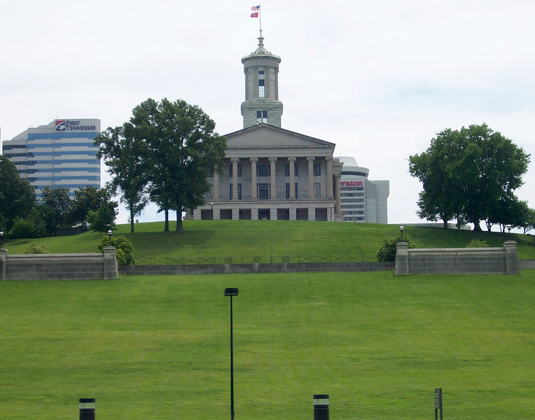 "The Tennessee State Capitol. <br /> <br /> The Bicentennial Mall stretches 19 acres, connecting the Tennessee Capitol Building and the Germantown Historic District. The pedestrian mall opened in 1996, to commemorate the 200th anniversary of the state of Tennessee.<br /> <br /> Fashioned after the National Mall in Washington, DC, the park celebrates the state's history, recreational attractions, and natural wonder. The Bicentennial Mall offers a number of attractions, including a 1,400-foot Wall of History etched with historic events from the state's first two centuries, 31 fountains that each represent one of the state's rivers, and a 200-foot granite state map.  <br /> <br /> The mall also preserves the only remaining view of the Capitol -- from the north side -- as a building boom in the late 1950s and early 1960s blocked the sight of the building from the east, west, and south sides of the city.<br /> <br /> The project was awarded TE funds (under Category 1) in 1994 for construction of the Bicentennial Mall. Federal Award: $23,250,000; Local Match: $5,812,000; Total: $29,062,000<br /> <br /> To learn more about the Bicentennial Mall visit  <a href=""http://www.tennessee.gov/environment/parks/Bicentennial/index.shtml"">http://www.tennessee.gov/environment/parks/Bicentennial/index.shtml</a>"
