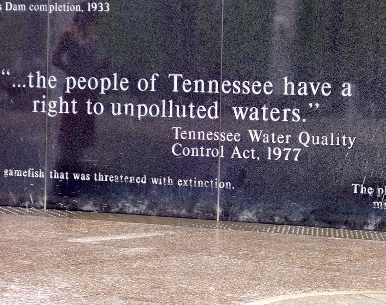 """The River Walk at the Rivers of Tennessee Fountains is a granite wall with inscriptions about the state's waterways. <br /> <br /> The Bicentennial Mall stretches 19 acres, connecting the Tennessee Capitol Building and the Germantown Historic District. The pedestrian mall opened in 1996, to commemorate the 200th anniversary of the state of Tennessee.<br /> <br /> Fashioned after the National Mall in Washington, DC, the park celebrates the state's history, recreational attractions, and natural wonder. The Bicentennial Mall offers a number of attractions, including a 1,400-foot Wall of History etched with historic events from the state's first two centuries, 31 fountains that each represent one of the state's rivers, and a 200-foot granite state map. <br /> <br /> The mall also preserves the only remaining view of the Capitol -- from the north side -- as a building boom in the late 1950s and early 1960s blocked the sight of the building from the east, west, and south sides of the city.<br /> <br /> The project was awarded TE funds (under Category 1) in 1994 for construction of the Bicentennial Mall. Federal Award: $23,250,000; Local Match: $5,812,000; Total: $29,062,000<br /> <br /> To learn more about the Bicentennial Mall visit  <a href=""""http://www.tennessee.gov/environment/parks/Bicentennial/index.shtml"""">http://www.tennessee.gov/environment/parks/Bicentennial/index.shtml</a>"""