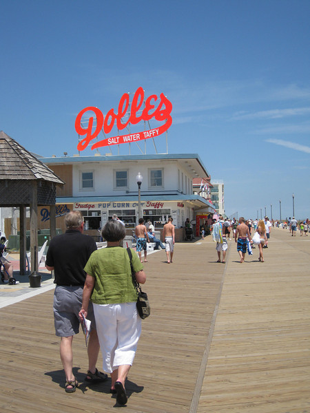 The boardwalk is a quintessential part of the Rehoboth Beach experience, providing an active transportation facility for locals and tourists alike to walk, bike, shop, and play.
