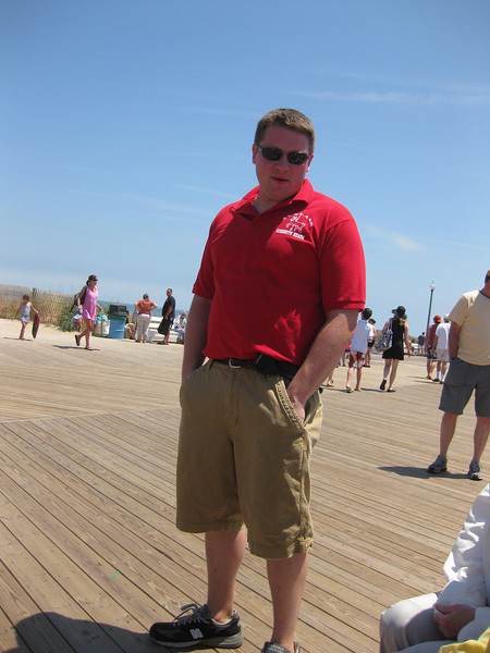 The boardwalk plays a critical role in the local economy, as it is the only frontage access for many local businesses. Reconstructing the boardwalk provides not only construction jobs, but protects the seasonal and year-round jobs of employees of local businesses, such as this Playland worker.