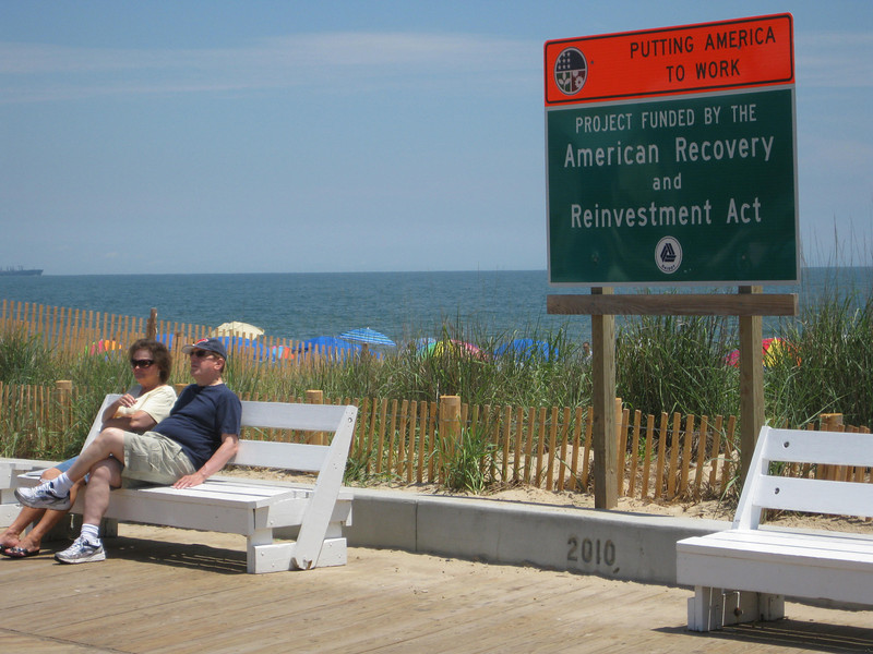 The American Recovery and Reinvestment Act (ARRA) provided an opportunity to create local construction jobs by completing the remaining 3/4-mile of the project during a time of major economic hardship for the travel-based economy of Rehoboth Beach. In addition, the project provides a key piece of infrastructure that plays a significant role in the state economy.