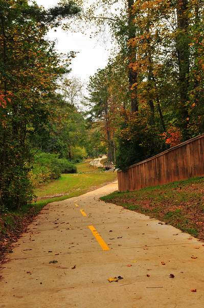 The Camp Creek Greenway, otherwise known as the Lilburn Greenway in Gwinnett County, Georgia offers an east-west connection through the town of Lilburn. The greenway connects community facilities, educational institutions, commercial properties, neighborhoods, and private residences together. <br /> <br /> The project was funded in two phases. The first phase runs from Rockbridge Road along a former rail bed to Killian Hill Road and used $600,000 in TE funding along with a $150,000 local match to fund the 10 foot wide paved path. The second phase of the greenway runs from Killian Hill Road to Arcado Road and used $1.07 million in TE funds along with a $267,500 local match. The total investment of $2,087,500 has helped to create a safe and active transportation corridor for local residents.