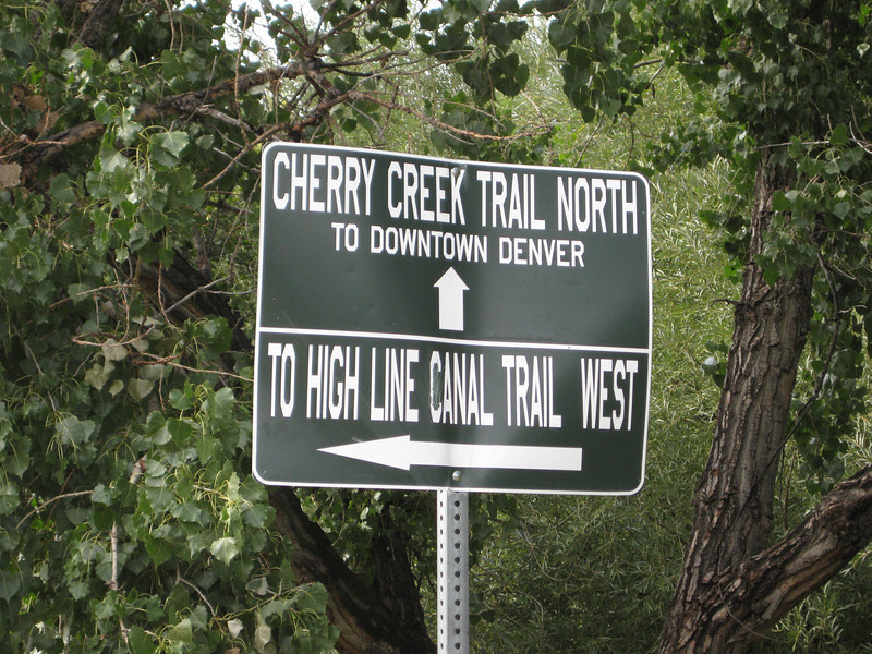 The Cherry Creek Trail runs from downtown Denver for more than 40 miles, connecting multiple suburbs and counties to the heart of the city.  The trail is below grade for much of the way, following the bed of the creek.  This minimizes the number of road crossings, and thus reduces conflicts between cars and nonmotorized travelers.  Residences, jobs, schools, parks, and shopping are all seamlessly connected on the trail corridor.<br /> <br /> The trail is a regional effort.  Various TE grants with differing sources of matching funds have contributed to constructing and improving the trail including $417,000 in 1999 to the City of Denver, $164,844 in 2001 to the town of Glendale, $365,000 in 2003 to Arapahoe County, and an additional $315,000 to Denver in 2005.  The end product is a trail that is one of the spines of a regional network of trails connecting travelers and destinations throughout the Denver area.