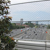 The Fifth Street Bridge over I-75/I-85 provides a direct connection between the Georgia Tech campus and Midtown, a bustling neighborhood in downtown Atlanta. In 2004, a TE grant of $350,000 contributed towards the cost of widening the bridge to include bicycle lanes, 24-foot sidewalks, and more than 30,000 square feet of lush green space. The federal contribution was leveraged by significantly larger state and private contributions.  The bridge opened to the public in 2006, and has been recognized in numerous national publications.<br /> <br /> This innovative project is on the cutting edge of contemporary urban planning. As dense urban areas struggle to find room for green space, planners in American cities are putting parks in the sky by incorporating green elements into transportation infrastructure, such as New York's High Line Park (on an abandoned elevated rail track) or Millennium Park in Chicago (on top of a parking garage).<br /> <br /> The experience for users of the bridge stands in stark contrast to the fourteen lanes of highway traffic that rush beneath the bridge. Within the confines of the park space, the roar of the interstate is reduced to a distant hum. Pedestrian and bicycle travelers move at their own pace, while blooming trellises provide shade and beauty for those who make the bridge their destination.