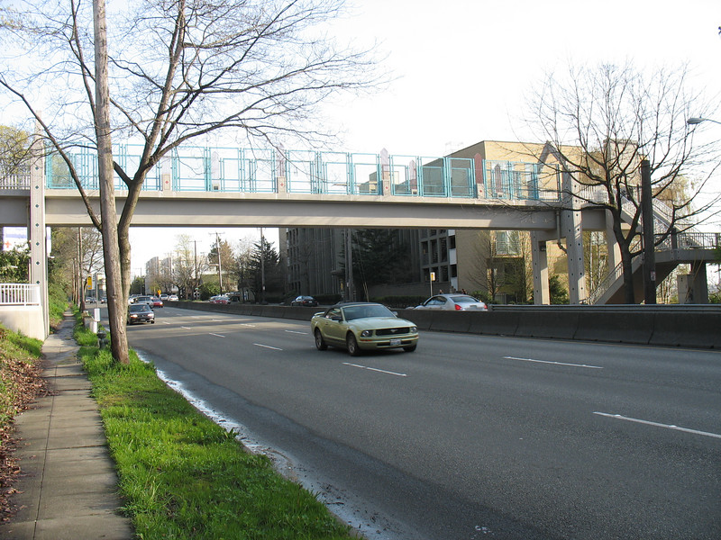 Galer Street Pedestrian Bridge over Aurora Ave. Federal $220,800.00; Match $41,926; Total $262,726