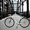 """<a href=""""http://www.flickr.com/photos/inorman/3471520719/sizes/l/in/photostream/"""">Photo Credit</a>  The Hot Metal Bridge in Pittsburgh, Pennsylvania was originally built in the 1880s to transport hot steel across the Monongahela River to rolling mills on the other side. This significantly improved business as steel previously had to be reheated. A century later and the bridge is now providing passage over the Monongahela River for bicyclists and pedestrians. A TE fund of over $6,500,000 was matched locally by $730,000 and went towards the removal of lead-based paint, to build a bridge over Second Ave., and to connect the bridge to the Eliza Furnace trail. The bridge reopened in November of 2007 and is a vital connection to the Pittsburgh bicycle network."""