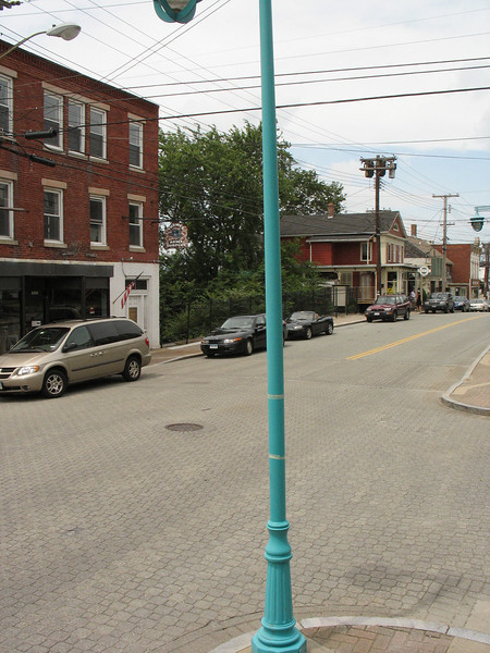 Groton made Streetscaping & Lighting Improvements along Thames street between Latham and Pleasant streets using funds from two award in 1992 & 1993. 1992 award: Federal $142,293; Local: $35,573; Total $168,665 and 1993 award: Federal $134,932; Local: $33,733; Total $168,665