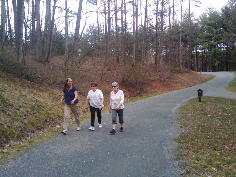 "The Saunders-Monticello Trail is a 2-mile, ADA accessible, bike and pedestrian trail that links provides visitors of Monticello a safe alternative to Route 53, which lacks bike and pedestrian facilities. It is also wildly popular among community residents who use it for recreation and fitness opportunities. The trail terminates at the <a href=""http://www.monticello.org/featured/new_vc.html"">Thomas Jefferson Visitor Center and Smith History Center</a>.  The Thomas Jefferson Parkway (Route 53), part of the <a href=""http://www.byways.org/explore/byways/2343/directions.html"">Journey Through Hallowed Ground Byway</a>, serves as the scenic entrance to Monticello in Albermarle County, Virginia.  Developed by the Thomas Jefferson Foundation, the Parkway improvement project was a $6.5 million project that took place between 1996 and 2002 and involved the development of the <a href=""http://www.monticello.org/parkway/trail.html""> Saunders-Monticello Trail</a>, an <a href=""http://www.monticello.org/parkway/arboretum.html"">arboretum</a>, a 2-acre <a href=""http://www.monticello.org/parkway/pond.html"">pond</a>, and the <a href=""http://www.monticello.org/parkway/bridge.html"">Saunders Bridge</a>.  A $3.4 million TE grant, procured in 1992, along with private donations in the amount of $3.1 million provided funding for the Thomas Jefferson Parkway improvements."