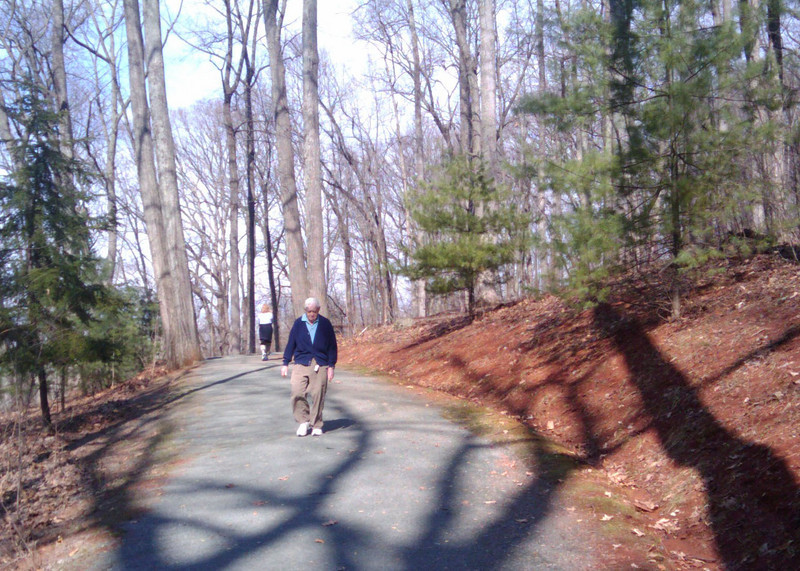 """The Saunders-Monticello Trail is a 2-mile, ADA accessible, bike and pedestrian trail that links provides visitors of Monticello a safe alternative to Route 53, which lacks bike and pedestrian facilities. It is also wildly popular among community residents who use it for recreation and fitness opportunities. The trail terminates at the <a href=""""http://www.monticello.org/featured/new_vc.html"""">Thomas Jefferson Visitor Center and Smith History Center</a>.  The Thomas Jefferson Parkway (Route 53), part of the <a href=""""http://www.byways.org/explore/byways/2343/directions.html"""">Journey Through Hallowed Ground Byway</a>, serves as the scenic entrance to Monticello in Albermarle County, Virginia.  Developed by the Thomas Jefferson Foundation, the Parkway improvement project was a $6.5 million project that took place between 1996 and 2002 and involved the development of the <a href=""""http://www.monticello.org/parkway/trail.html""""> Saunders-Monticello Trail</a>, an <a href=""""http://www.monticello.org/parkway/arboretum.html"""">arboretum</a>, a 2-acre <a href=""""http://www.monticello.org/parkway/pond.html"""">pond</a>, and the <a href=""""http://www.monticello.org/parkway/bridge.html"""">Saunders Bridge</a>.  A $3.4 million TE grant, procured in 1992, along with private donations in the amount of $3.1 million provided funding for the Thomas Jefferson Parkway improvements."""