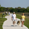 "In the 1990s citizens of Venice, Florida, began steps towards improving the economy and quality of life in their city through a community visioning process. Their efforts sparked the creation of the Venetian Waterway Park. The Waterway Park is a narrow ribbon of green space and trails straddling the Intracoastal Waterway. When complete, the Park's ten mile trail system will drastically improve recreational opportunities and pedestrian and bicycle access to local amenities, including several of the area's beautiful gulf coast beaches, a number of adjacent parks, schools, the airport, and downtown Venice. The trail also provides access to the historic Venice depot, which was rehabilitated with a separate $343,910 TE award. The community organization <a href=""http://www.vabi.org"">Venice Area Beautification, Inc. (VABI)</a> played a central role by successfully garnering five TE awards totaling over $900,000 to construct the Park and its trails. The group also raised additional resources from the community and private organizations."