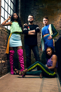 Louisville Bespoke Fashion Show Preview Editorial for TOPS Magazine by Louis Tinsley.  Designer: Evanglique, Edward Taylor
