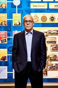 Editorial Portrait of Tim Baker