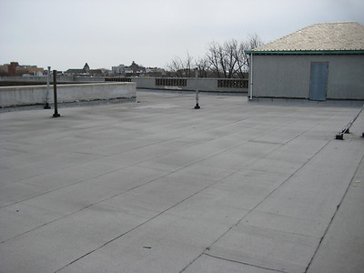 roof of the main building