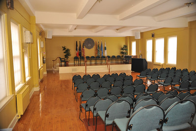 our auditorium located on the main floor of the main building