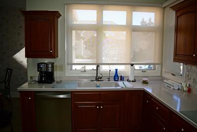 Kitchen Sink & Large Window