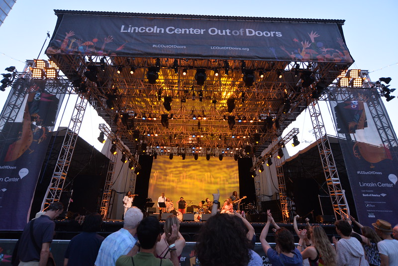 (1)   TOSHI  REAGON  and  BIGLovely   in  Concert  2015    -    Damrosch  Park  Bandshell,  Lincoln  Center  NYC