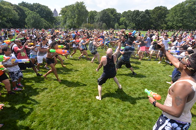 (1)  WATERFIGHT  NYC  2015  -   The  Great  Lawn,  Central  Park  NYC