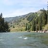 Snake River - rafting Wyoming