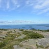 view from the top of Cadillac Mountain 1530 ft. up.
