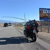 Driving from NV to UT on the way to CO to meet up with mom and dad for a week of riding.