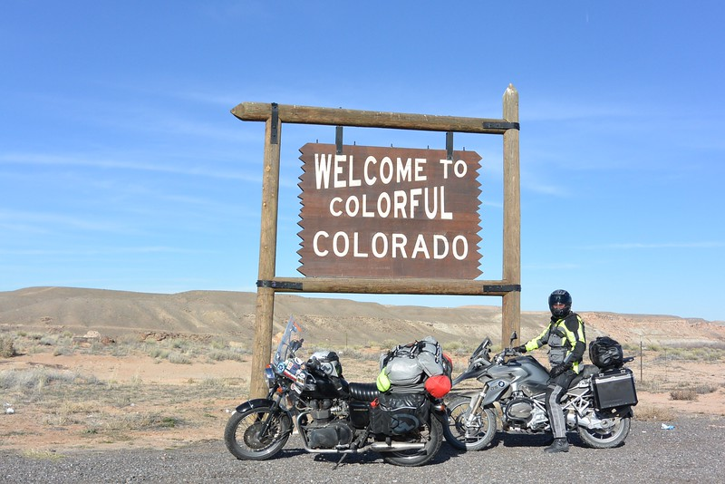 Met Jeremy Taylor for 200 miles of my ride into Colorado - we had a grand time!