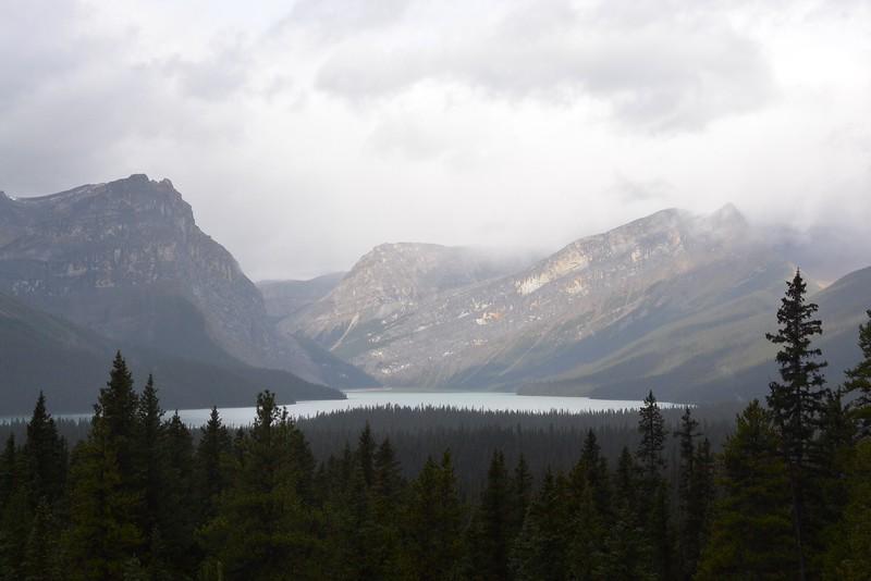 heading into Banff