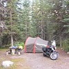 camping in Kootenay National Park
