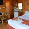 ahh the pleasures of KOA Deluxe Cabins, thank you