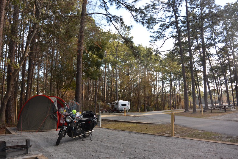Camping in South Georgia - Laura S. Walker State Park