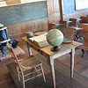 The old school classroom