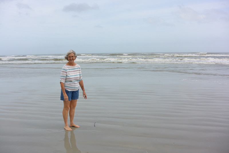 visiting on the coast of FL with my Great Aunt, had not seen each other in 15 years!