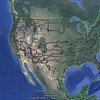 Google Earth - the GWR part of the Journey 9-19-2014 to 8-29-2015 - 48, 600 miles throughout the continental United States.