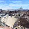 Then to the iconic Hoover Damn - that has intense airport like security you have to go through scanners to go to the visitor center now