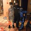 Halloween with my nephews! Luckily I had my costume on hand