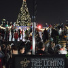 3, 2, 1, and tree lighting in the French Quarter