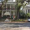 Riding the street car through the Garden District you see lots of interesting southern homes